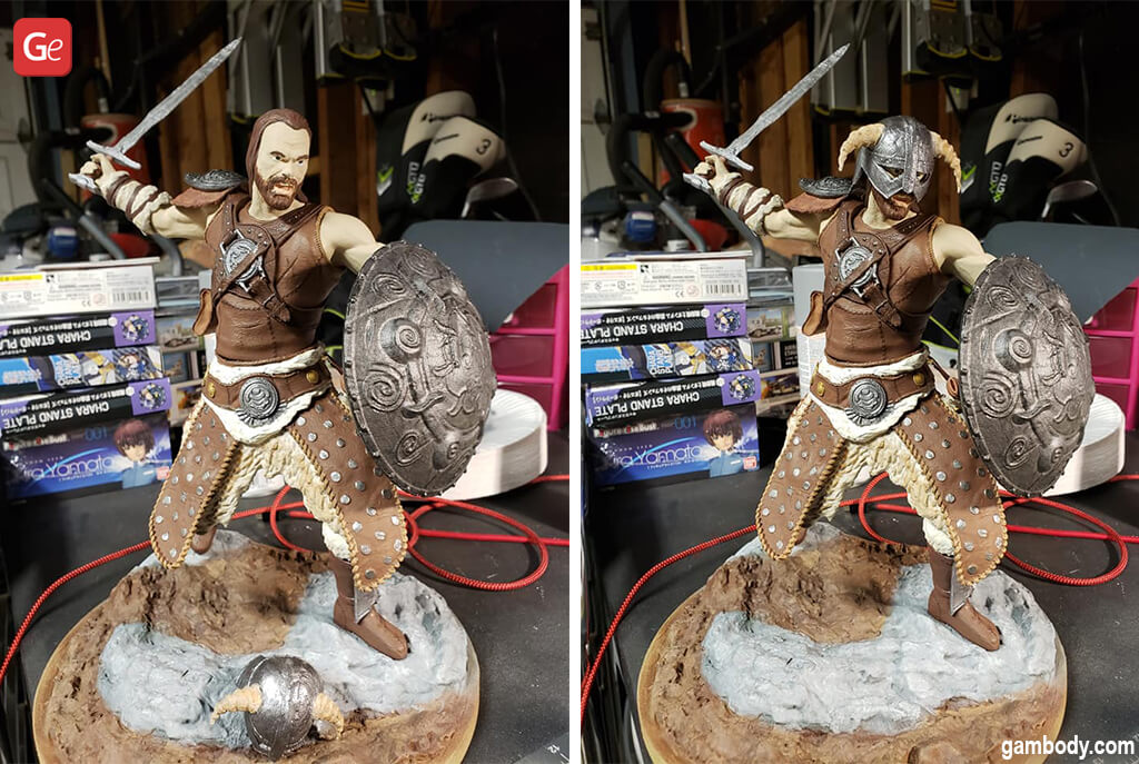 Cool stuff to 3D print Dovahkiin figurine