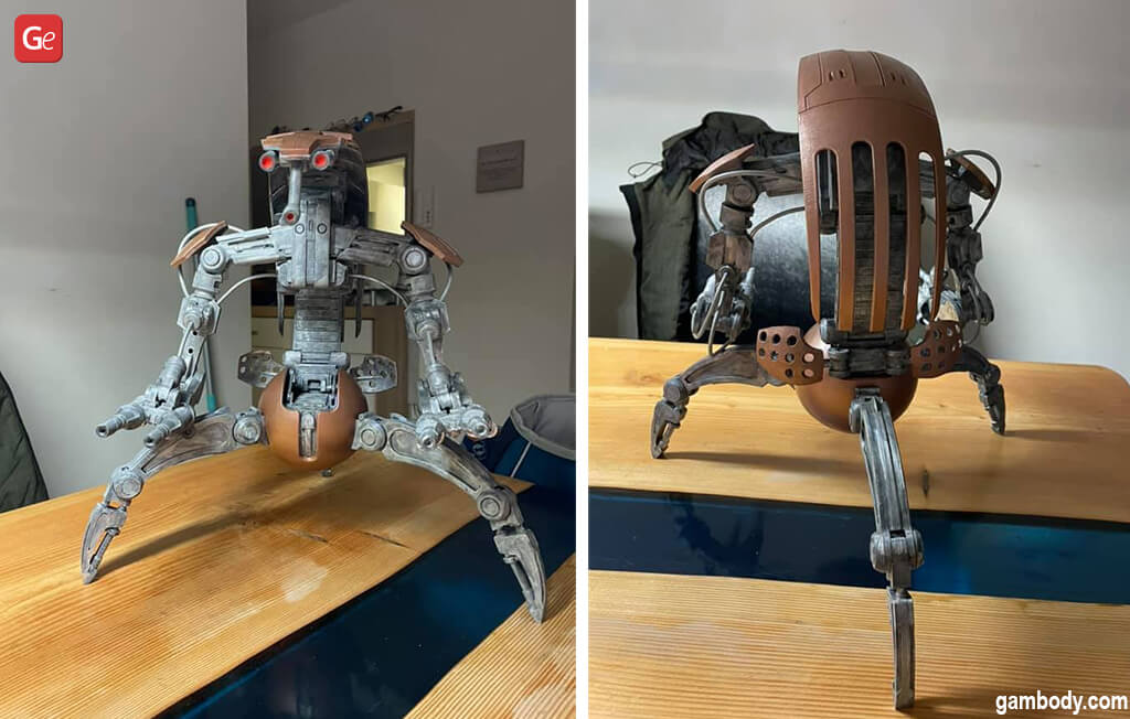Cool stuff to 3D print Droideka model