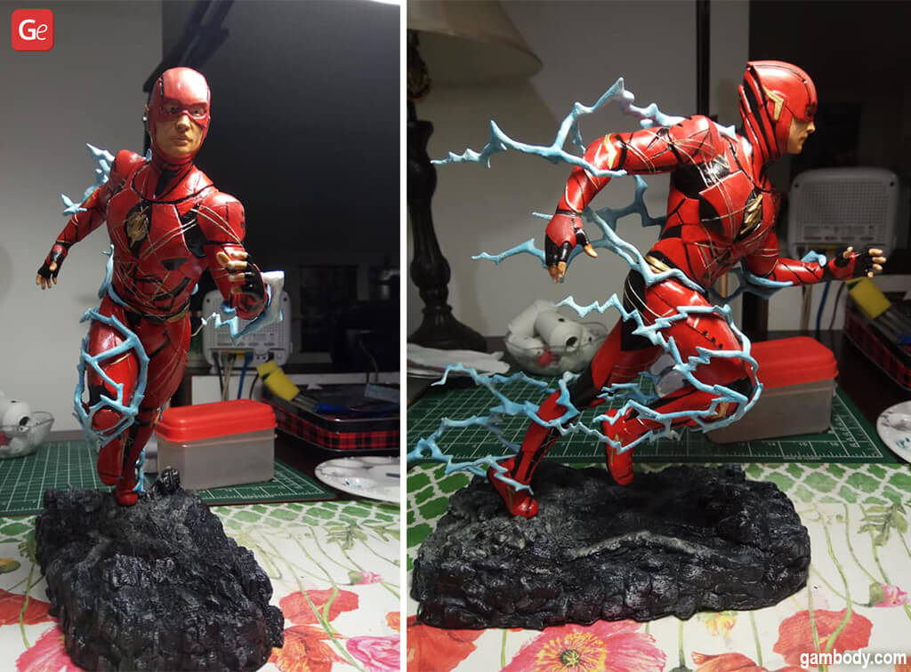 Cool things to 3D print Flash figurine
