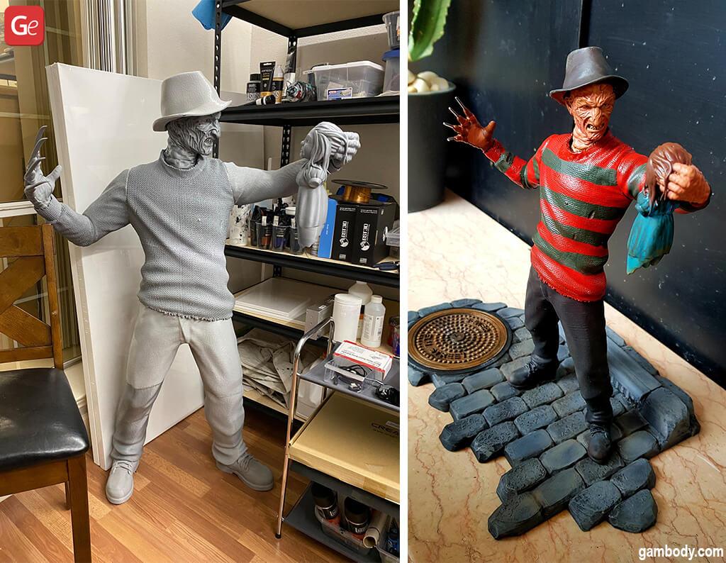 Cool stuff to 3D print Freddy Krueger
