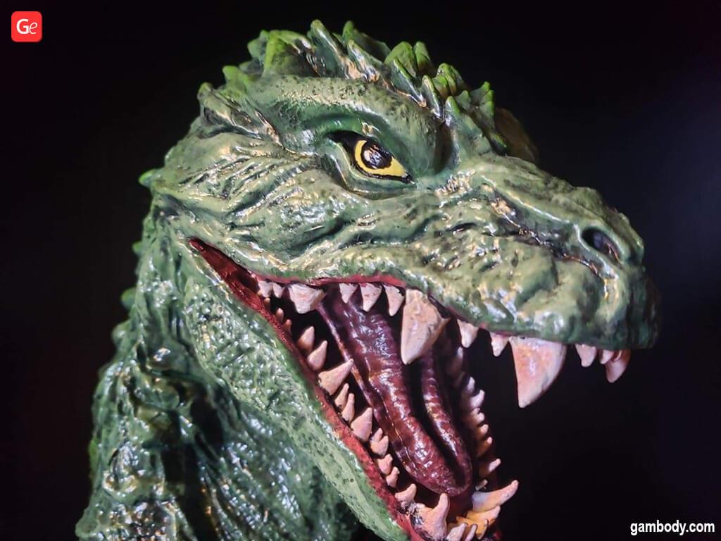 Godzilla 2000 figure