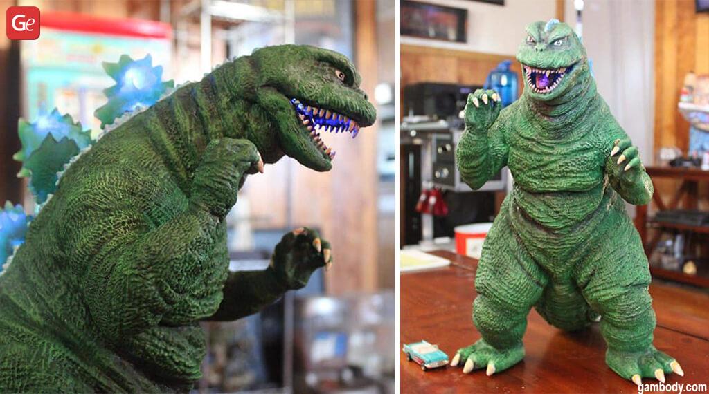 3D print miniatures Godzilla
