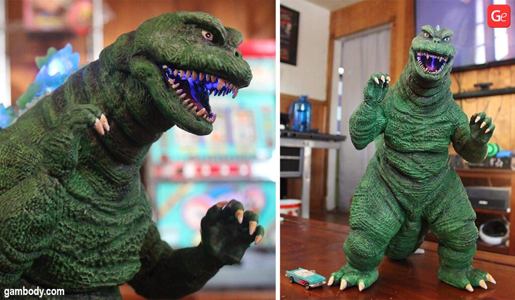 Godzilla the SoshingekiGoji figure 3D print