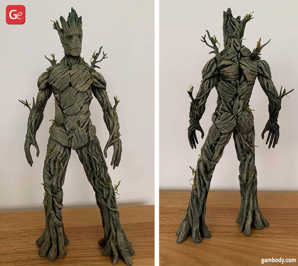Cool Adult Groot 3D print