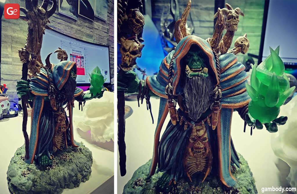 Things to 3D print Gul'dan WoW character