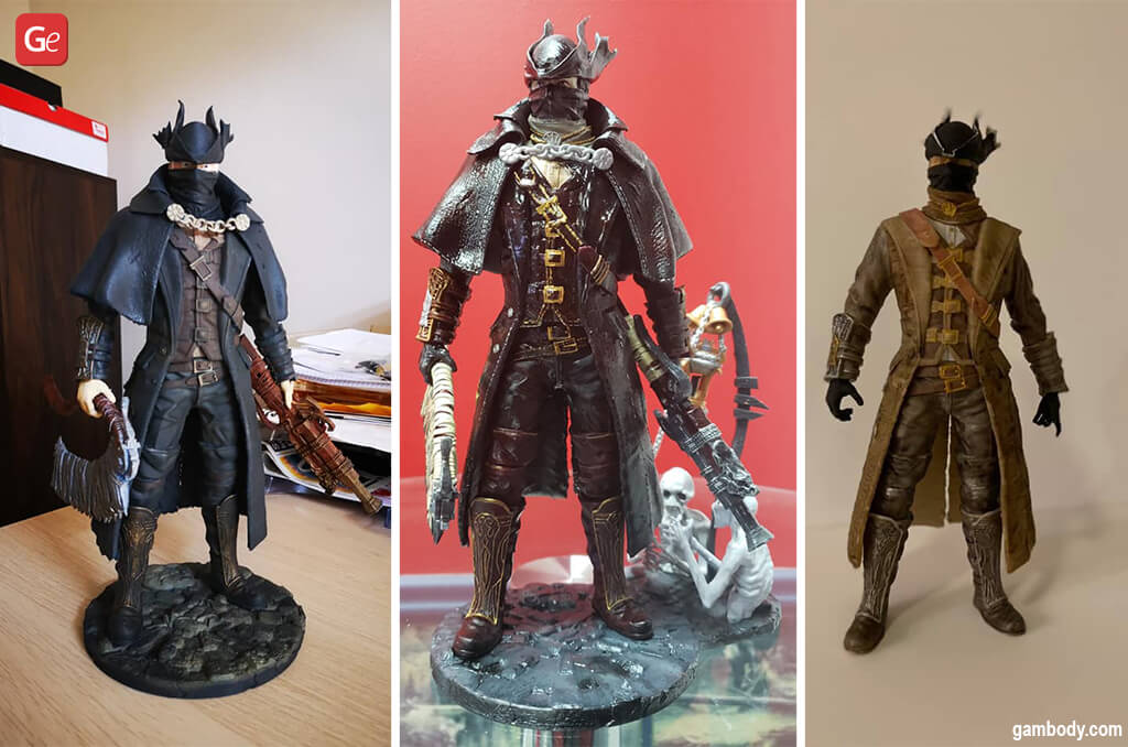3D print ideas Hunter Bloodborne figurine