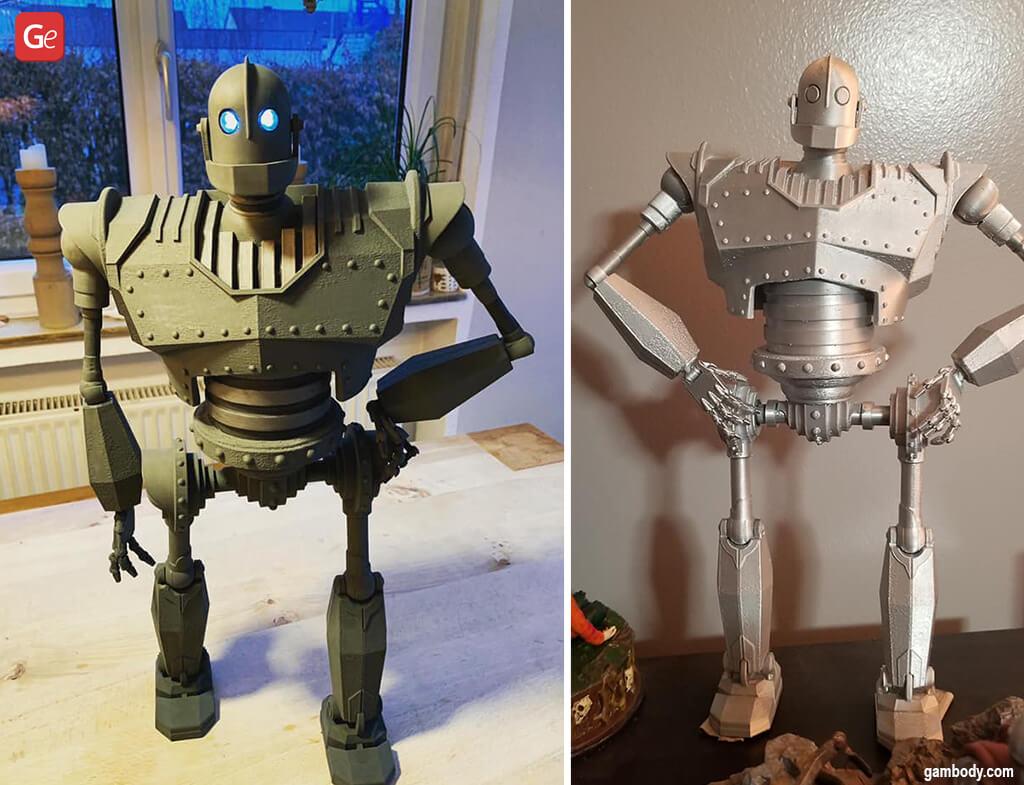 Coolest ideas to 3D print Iron Giant
