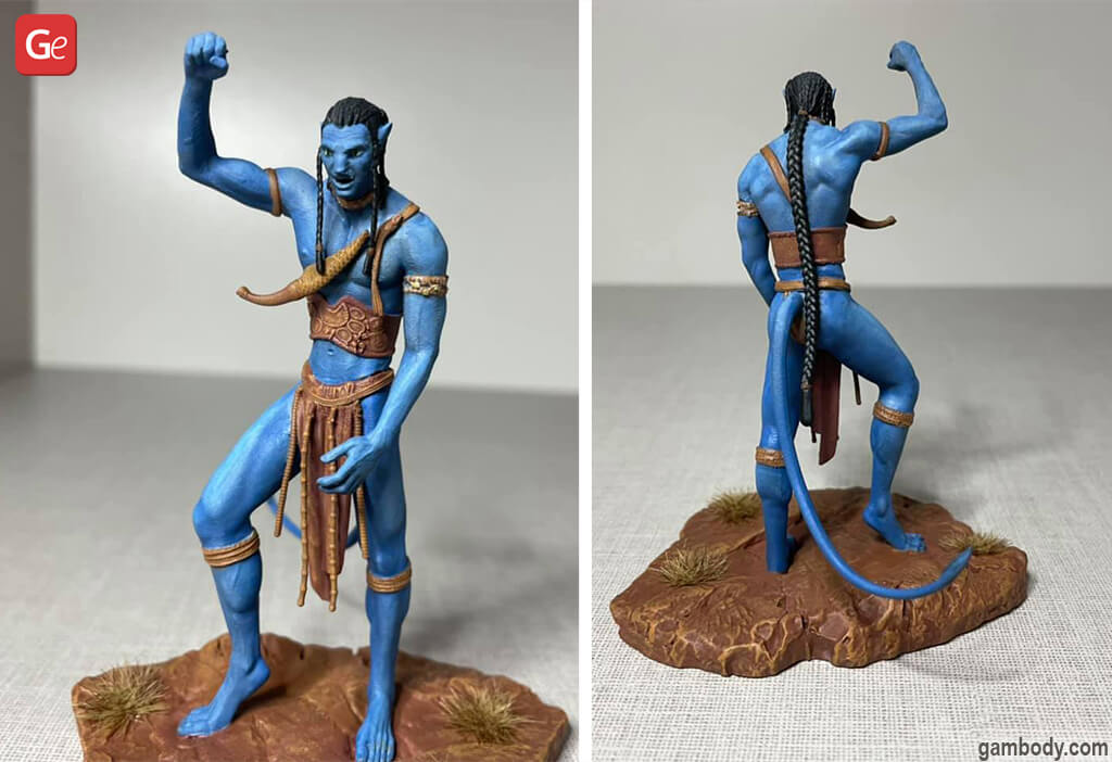 Coolest things to 3D print Jake Sully Avatar