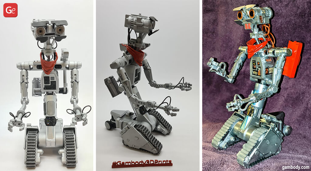 Cool things to 3D print Johnny 5 robot
