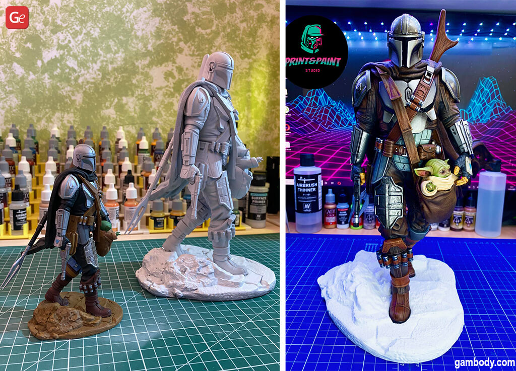 Coolest things to 3D print Mandalorian