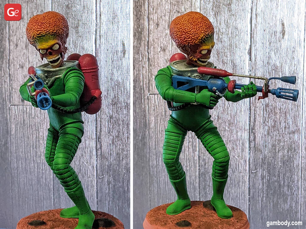 Coolest things to 3D print Martian Mars Attacks