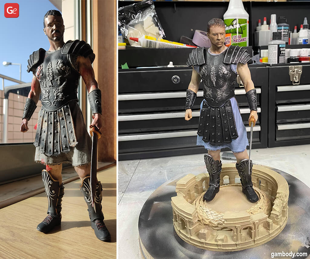 Coolest things to 3D print Maximus Gladiator