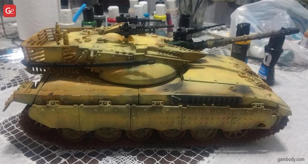 Cool stuff to 3D print Merkava mk2 tank
