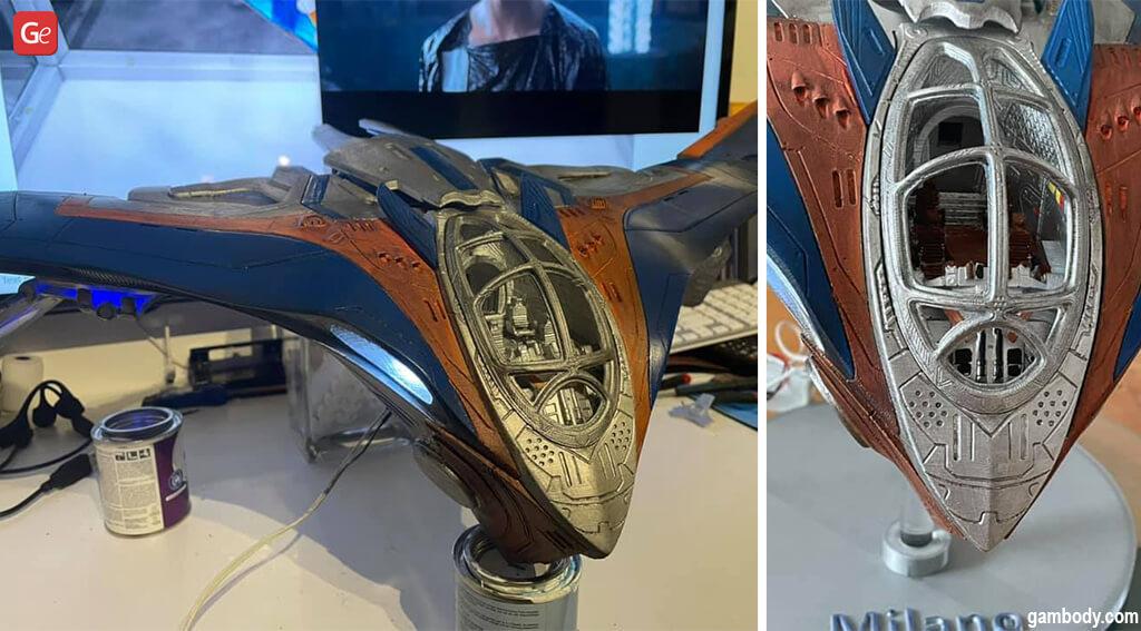 Cool things to 3D print Milano starship