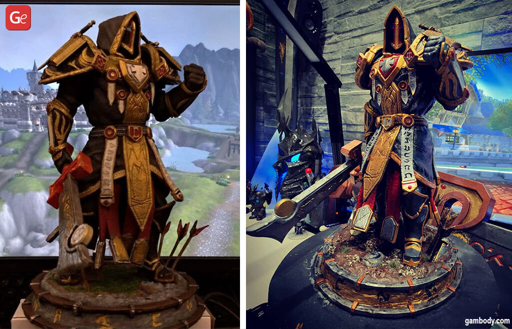Cool ideas to 3D print WoW Paladin