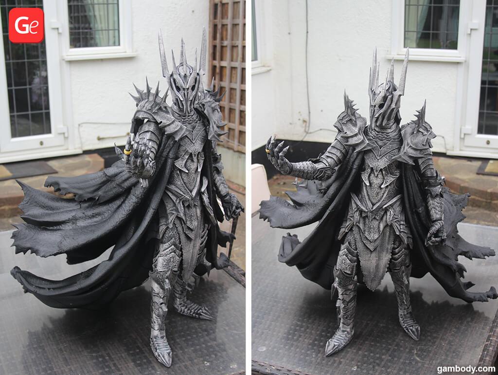 Sauron figurine how to start 3D printing