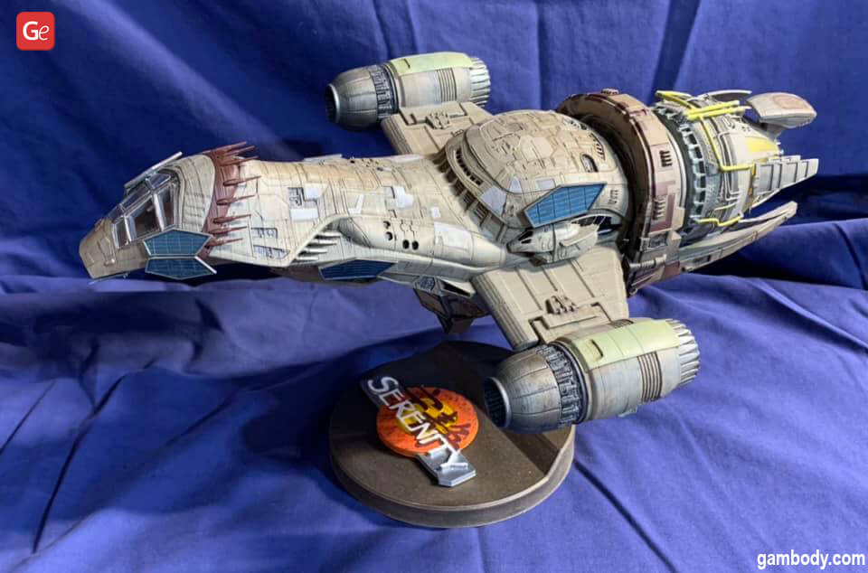 Cool 3D print ideas Serenity Firefly ship