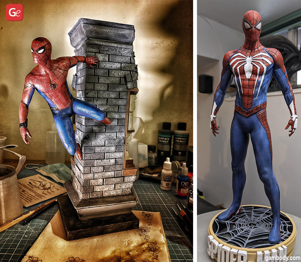 Cool stuff to 3D print Spider-Man