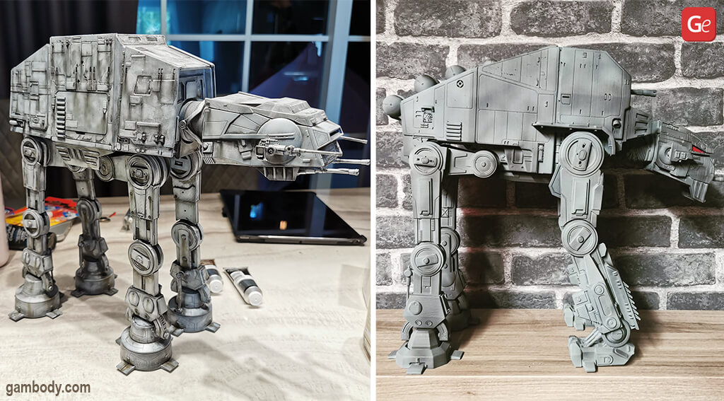 Coolest things to 3D Print All Terrain Transport Star Wars