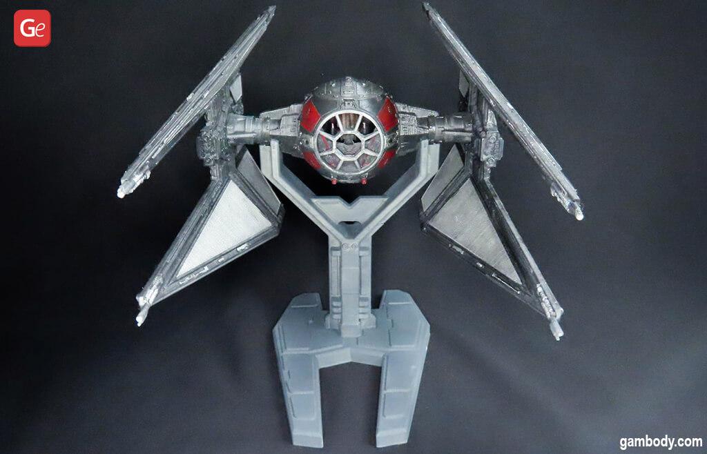 Coolest Star Wars 3D print TIE Interceptor