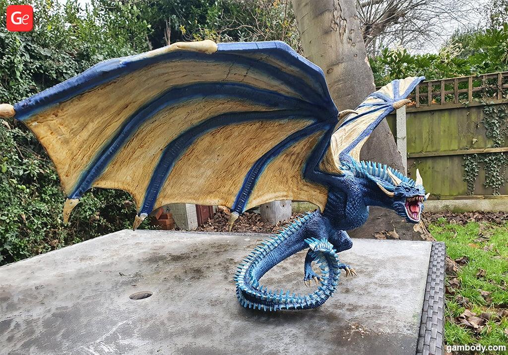 Viserion dragon model basics of 3D printing