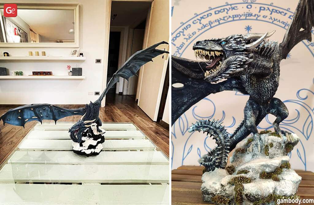 Cool things to 3D print Viserion Ice dragon