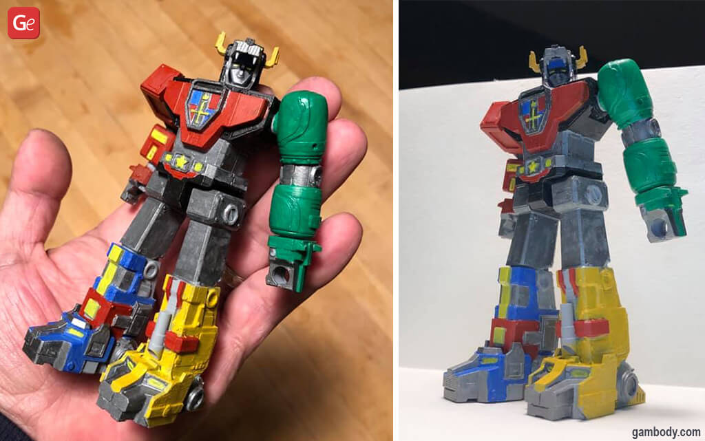 Coolest 3D printing things Voltron robot
