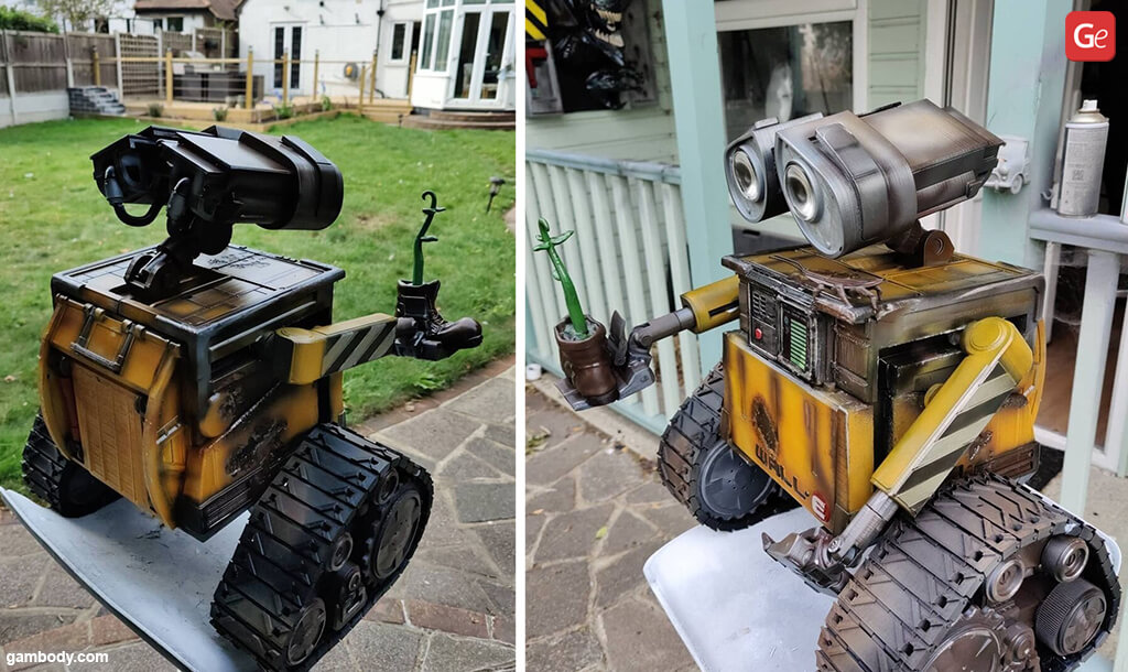 WALL-E robot basics of 3D printing