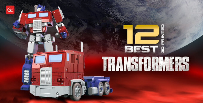 12 Iconic 3D Printed Transformers with STL Files to Make Your Own