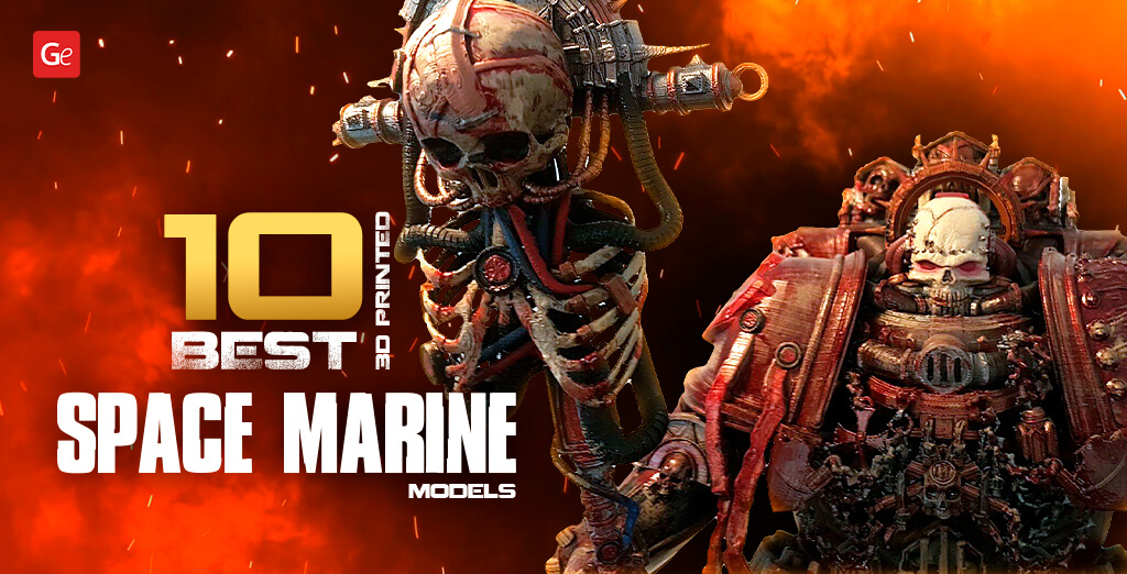 10 Best 3D Printed Space Marine Miniature Models with STL Files