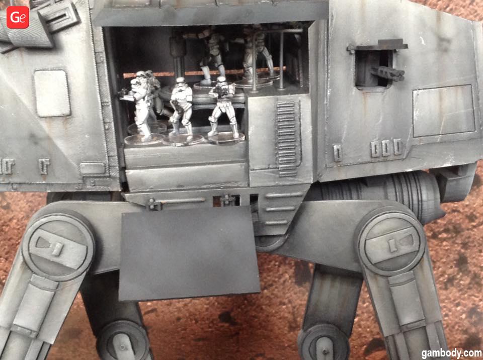 AT-AT model Star Wars 3D prints