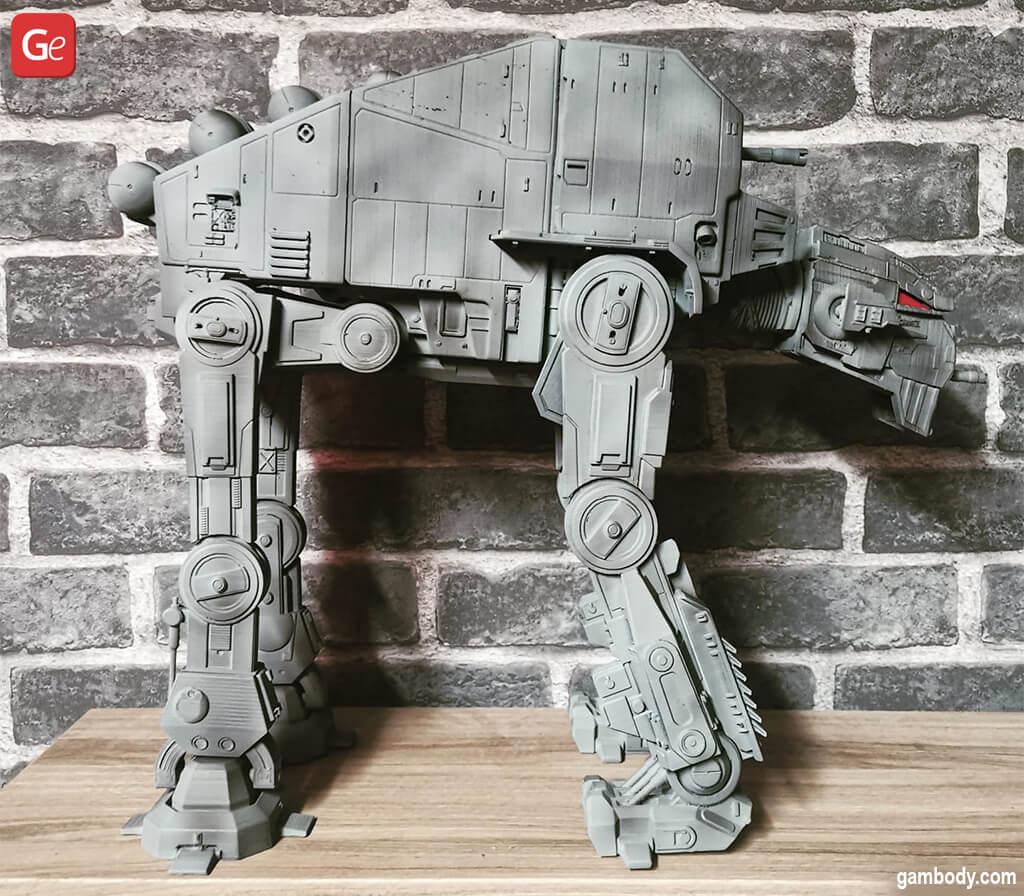 Star Wars AT-M6 Walker 3D print models