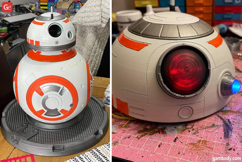 Star Wars BB-8 robot 3D print