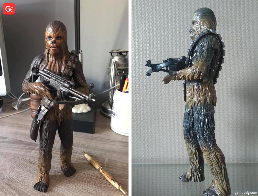 Chewbacca figure 3D model STL