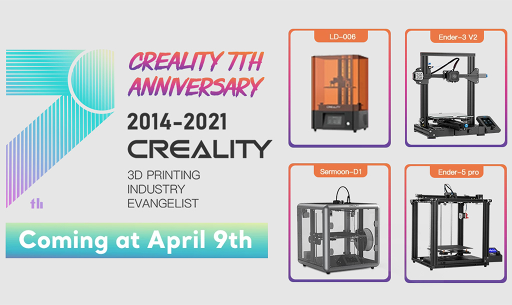 Gambody & Creality collaboration new 3D printers 2021