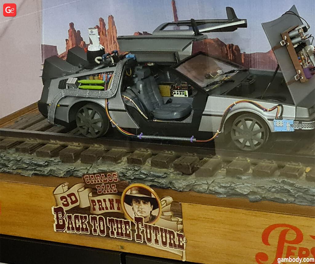 DeLorean DMC-12 3D printed car