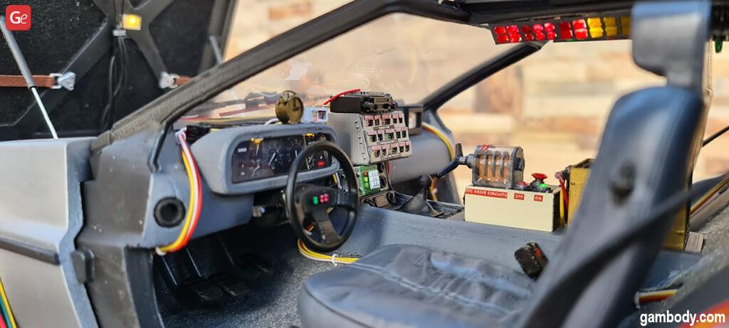DeLorean 3D print model