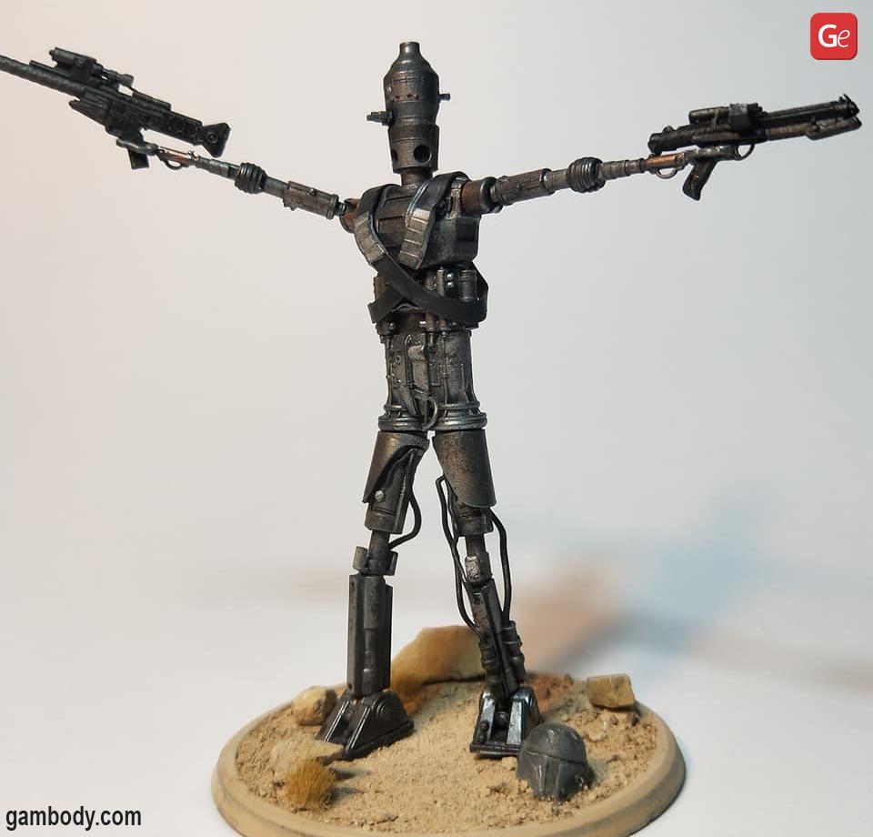 IG-11 droid Star Wars battle droids