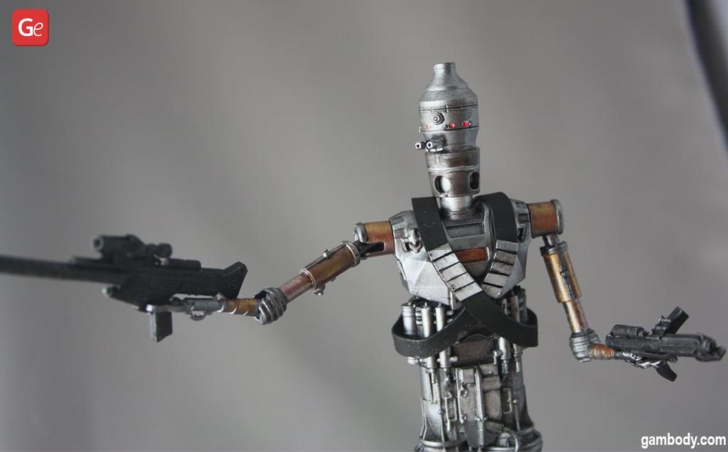 Star Wars IG-11 3D print pictures
