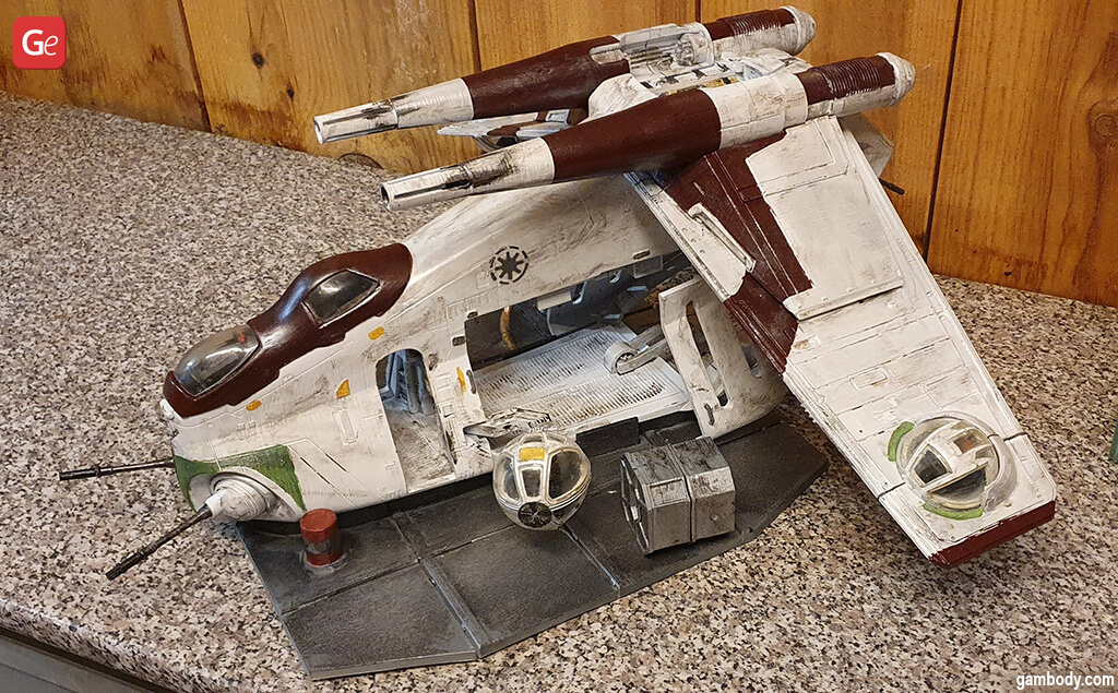 LAAT/i gunship 3D print coolest Star Wars ships