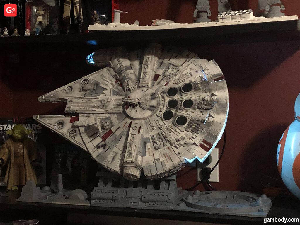 Millennium Falcon 3D print