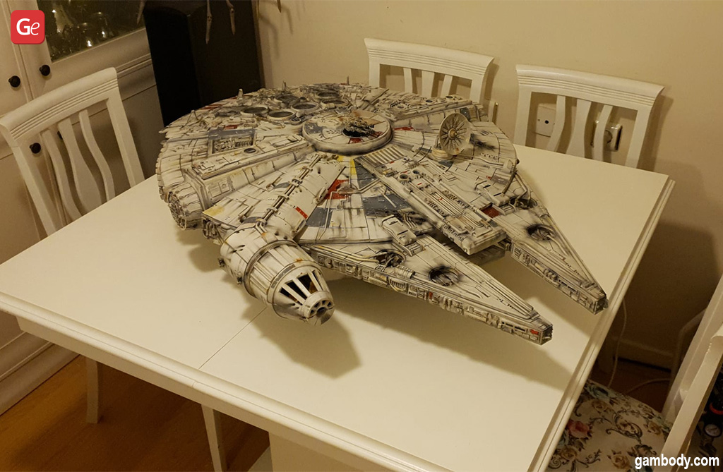 Millennium Falcon model Star Wars STL