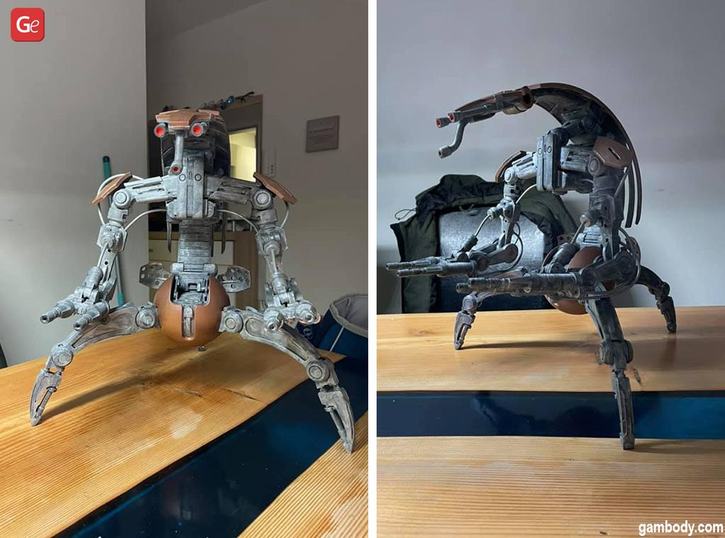 Star Wars Droideka battle droids 3D print