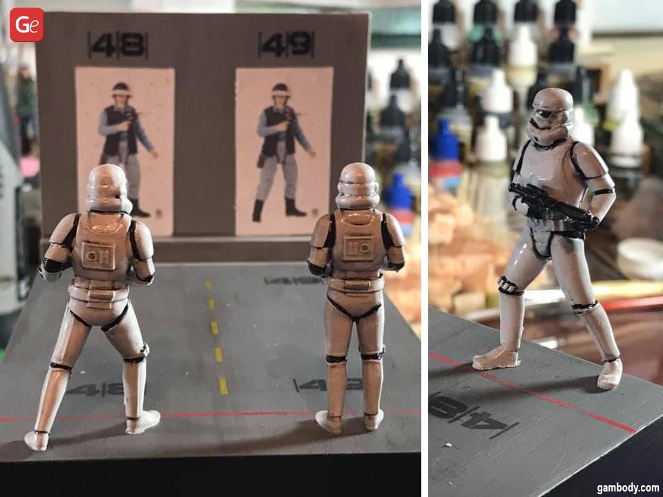 Stormtrooper figure 3D print