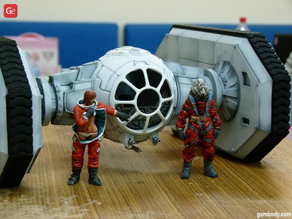 T.I.E. Crawler Star Wars models for 3D printing