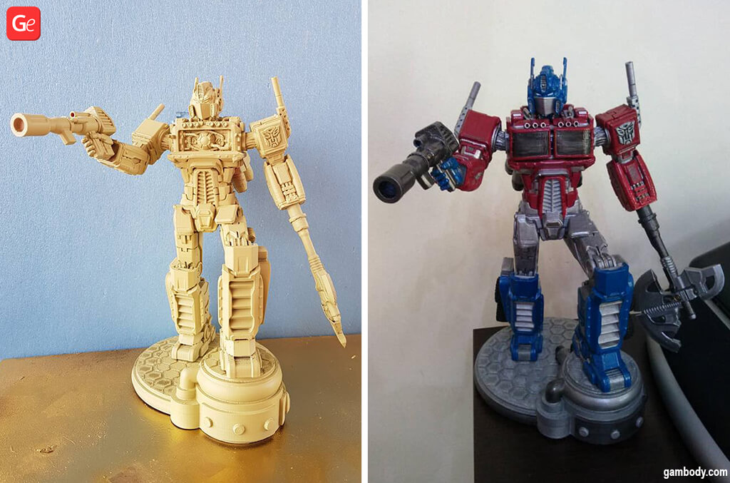 Optimus Prime Transformers G1 STL files