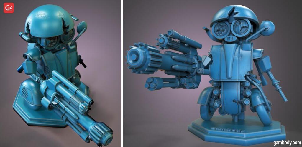 Autobot 3D print Transformers