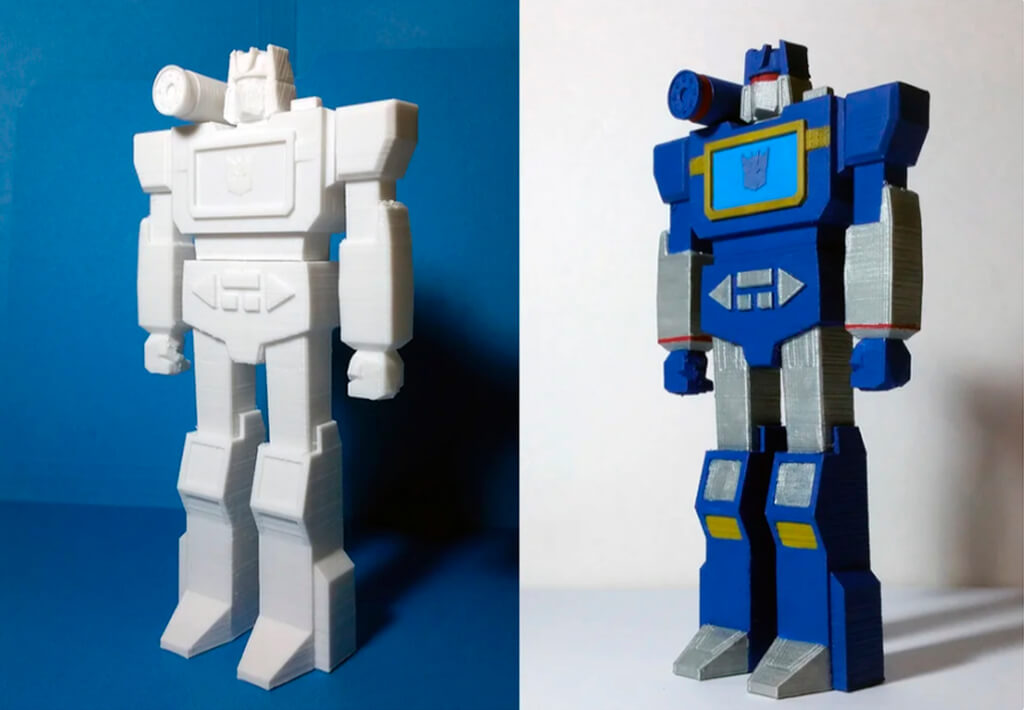 Transformers Soundwave 3D model STL files