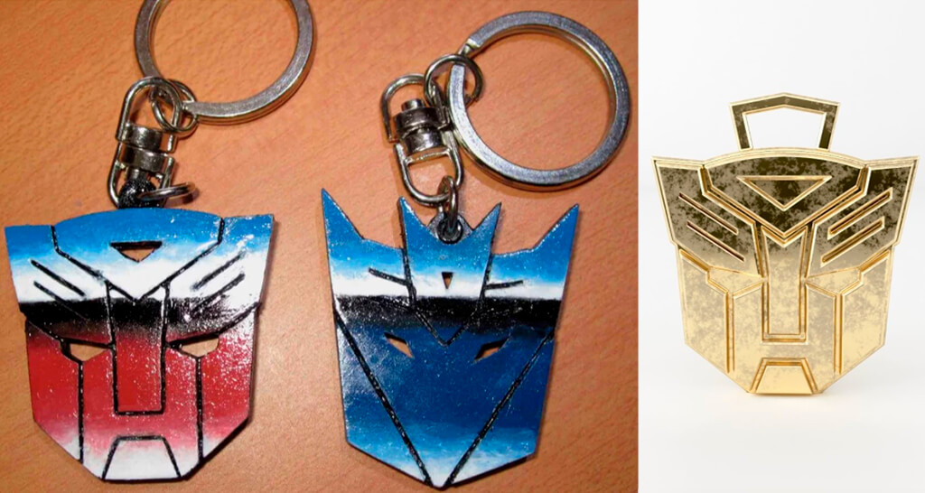 Transformers 3D printed accessories