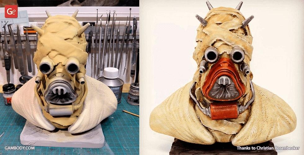 Star Wars Tusken Raider 3D print